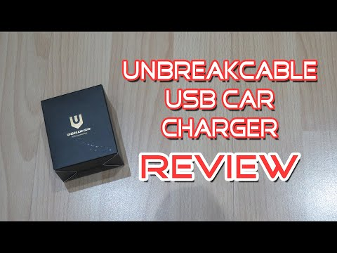 UNBREAKcable USB A and USB C Car Charger Review   Best Fast Charger For Cars