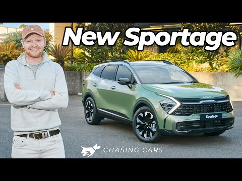 Kia Sportage 2022 review walkaround   new CX-5 and RAV4 SUV rival revealed   Chasing Cars