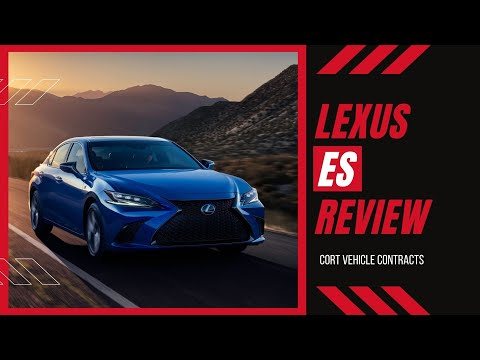 Lexus ES Saloon   New Car Review   Cort Vehicle Contracts