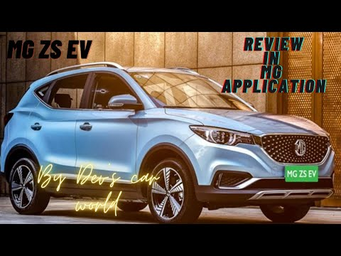 Mg ZS EV Review in mg application