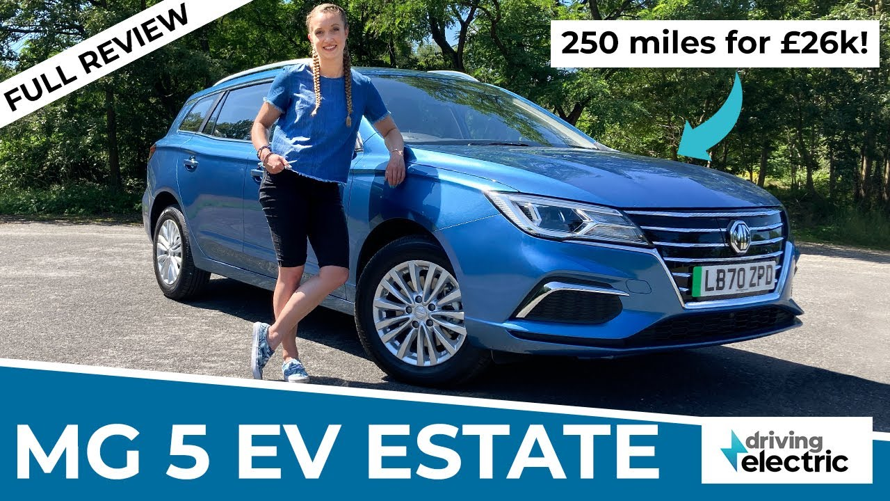 New 2021 MG 5 SW EV electric estate car review –DrivingElectric
