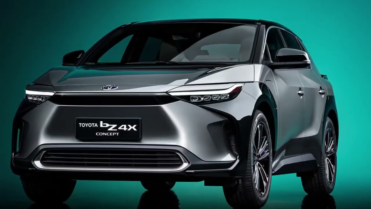 Toyota BZ4X Concept Previews RAV4 Sized 2022 EV Crossover  Detailed Review