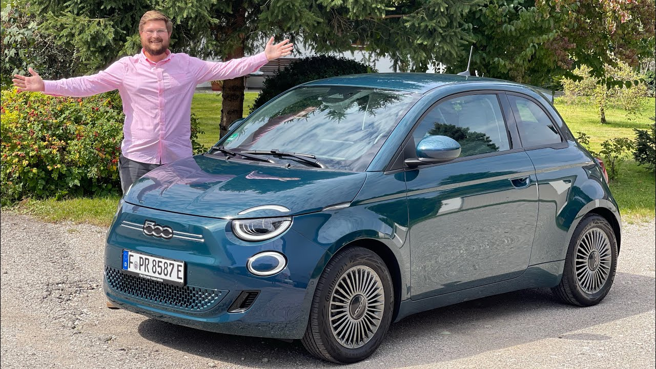 A Reasonably Priced EV With A Big Personality! Driving The New Fiat 500e For The First Time