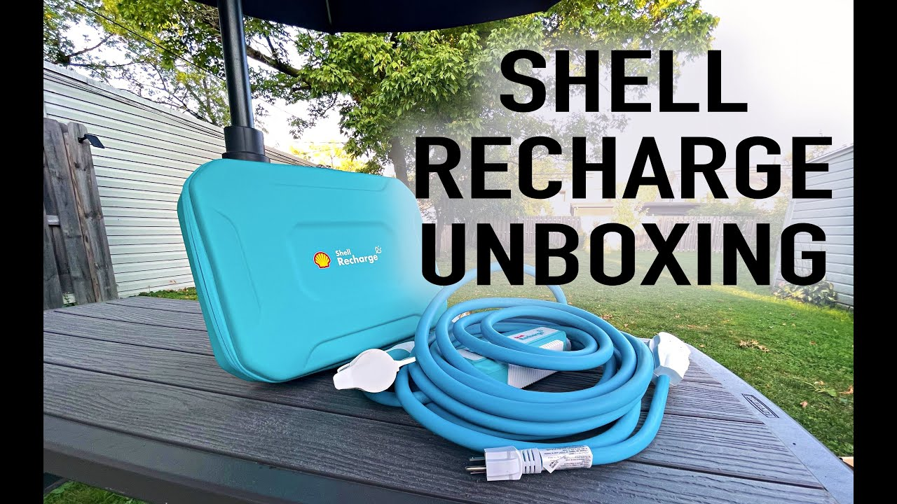Shell Recharge Portable EV Charger – Unboxing and Review