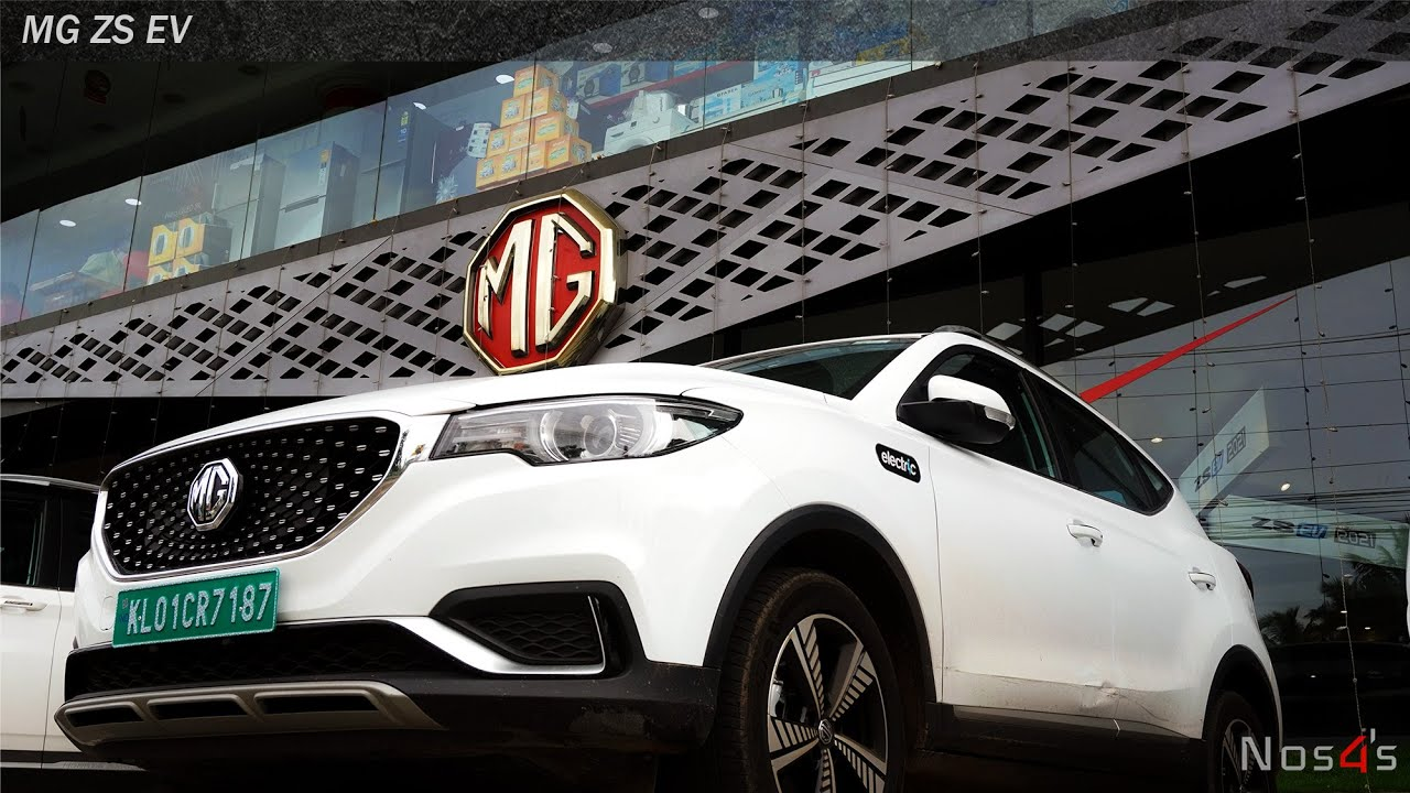 MG ZS EV Review   Economic and Powerful   Explaining top features  The future is Electric  NOS4's