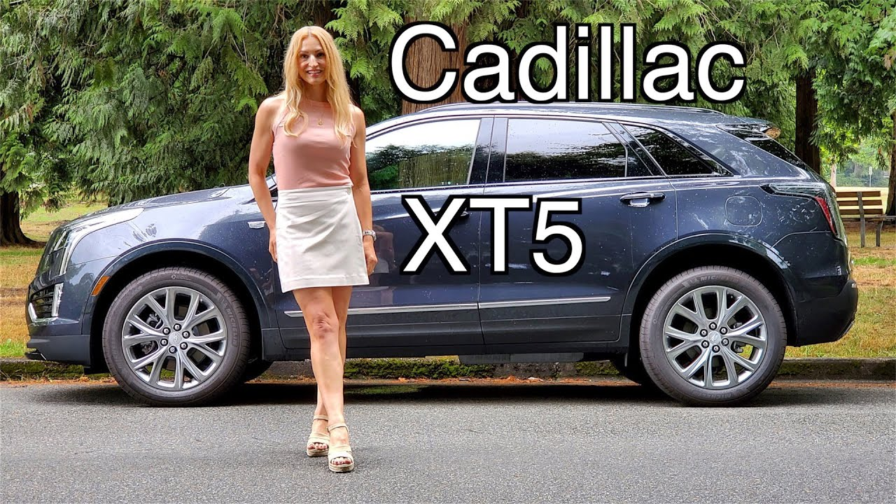 2021 Cadillac XT5 Review // Rare V6 in a compact SUV!