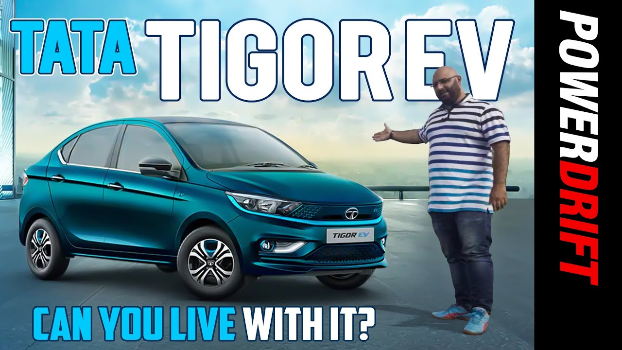 Tata Tigor EV | First Drive Review | Can You Live With It? | PowerDrift