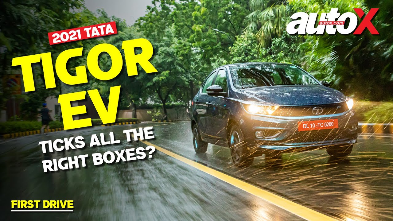 Tata Tigor EV Review – Does it tick all the right boxes? | First Drive | autoX