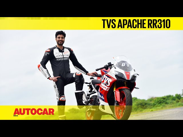 2021 TVS Apache RR310 BTO review – Lean on   First Ride   Autocar India