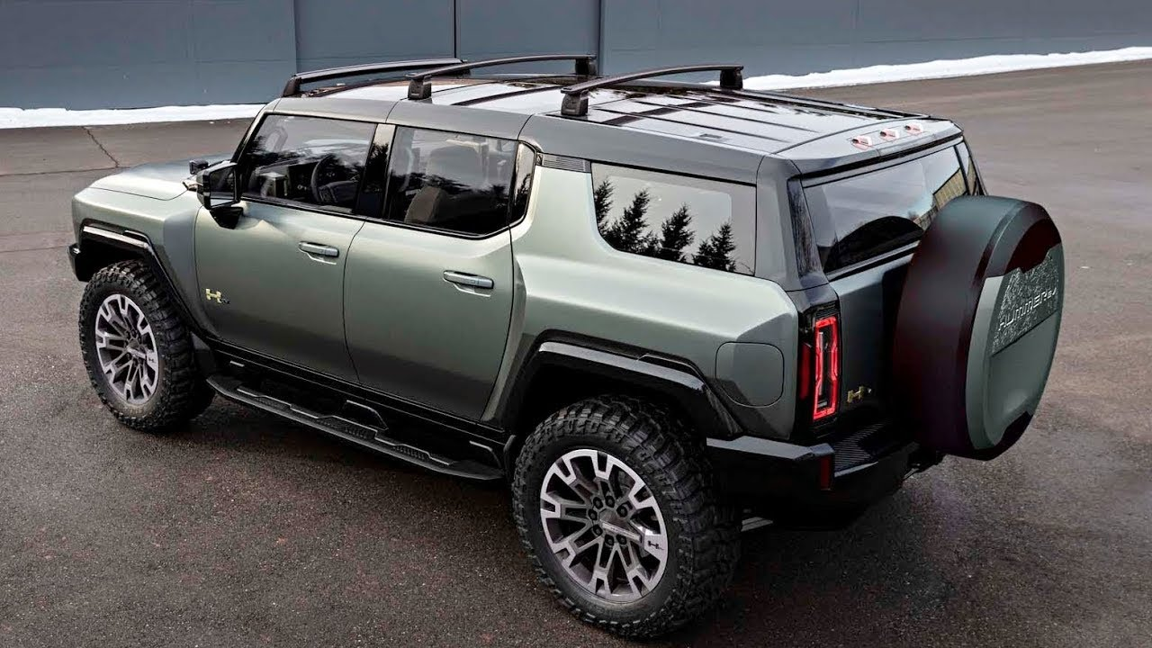 GMC Hummer EV (2024) Beautiful and rugged electric SUV! Interior exterior (review) hummer ev.