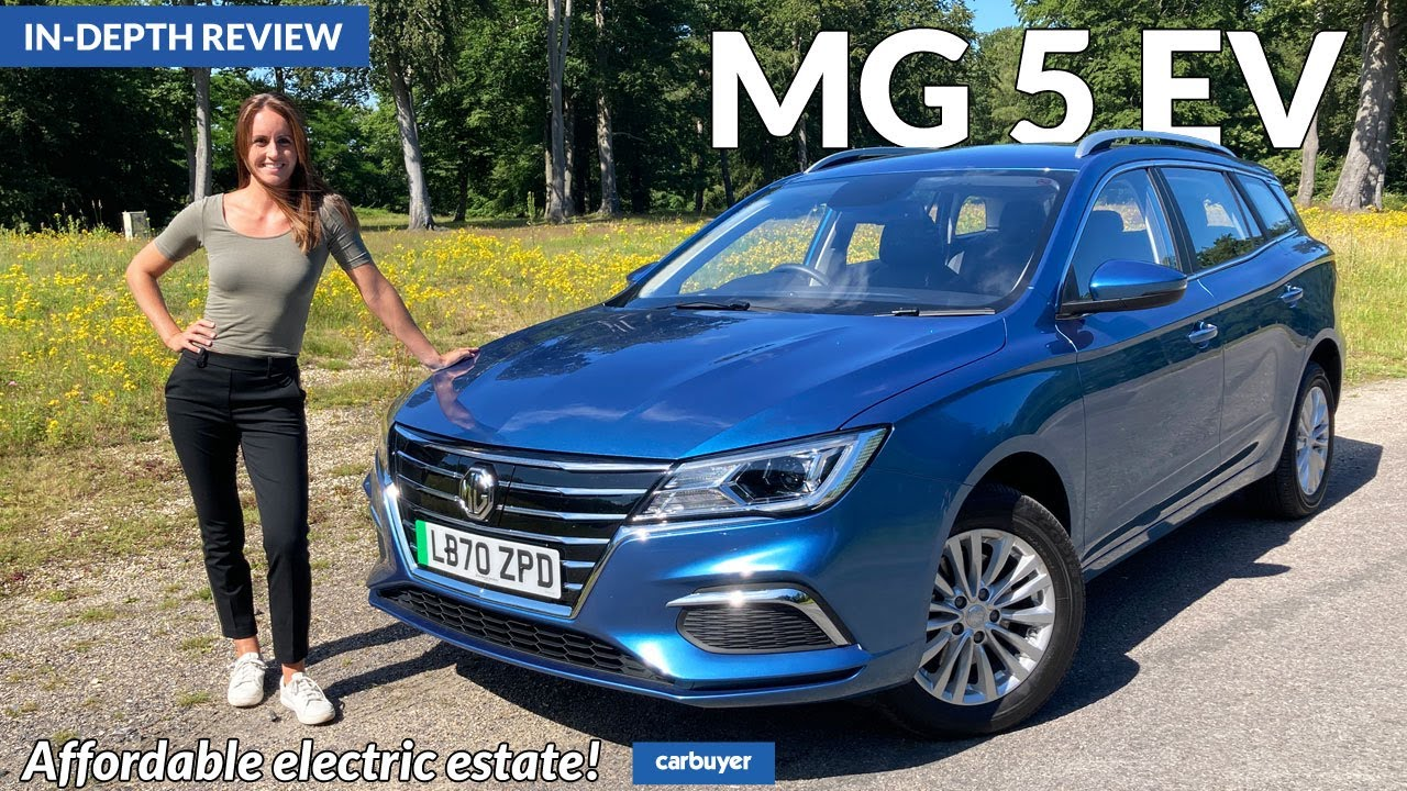 New MG 5 EV estate in-depth review: affordable electric estate!