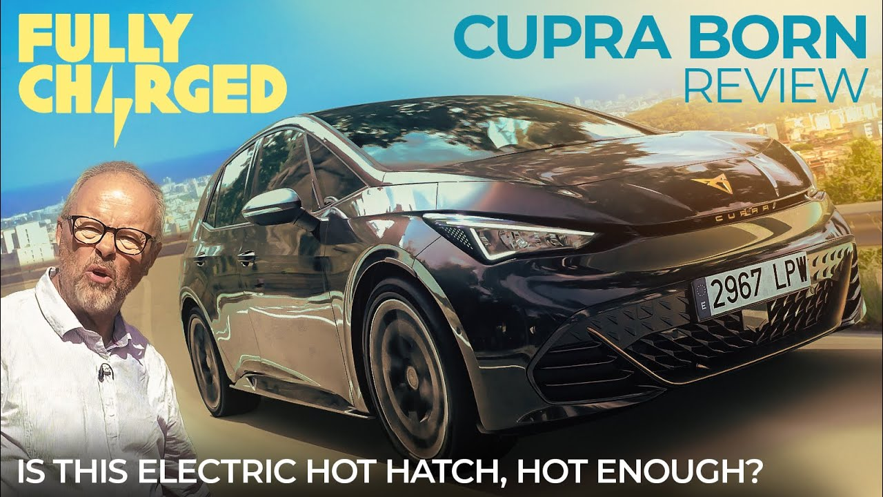 Is this Electric hot hatch, hot enough?   CUPRA BORN Review