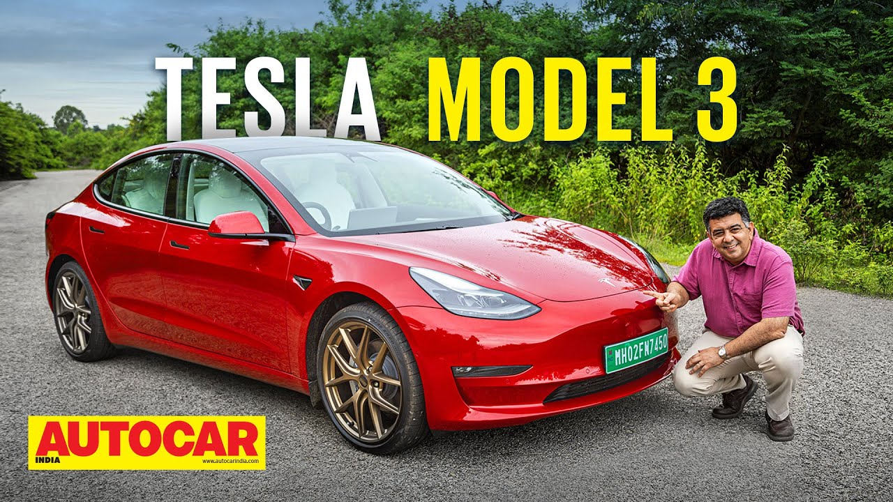 Tesla Model 3 India review – Happy Dussehra!   First Drive   Autocar India
