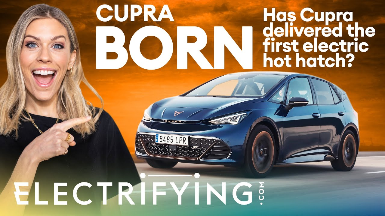 Cupra Born 2021 review – Has Cupra made the first ever electric hot hatch? / Electrifying